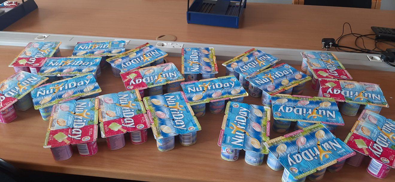 yoghurt donation